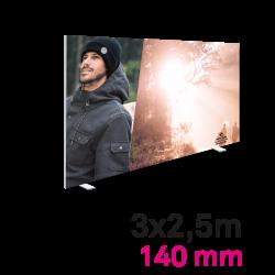 Cadre Autoportant 140mm 3 x 2.5 m