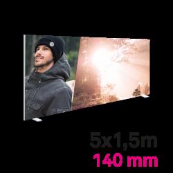 Cadre Autoportant 140mm 5 x 1.5 m