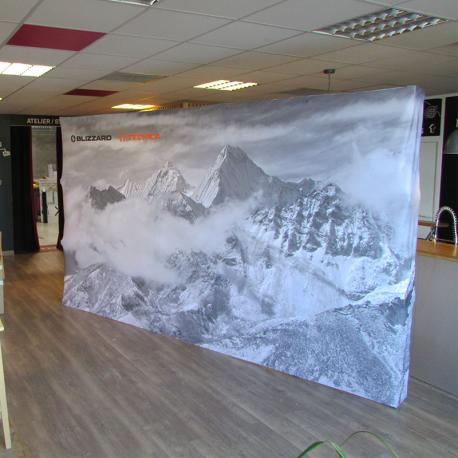 Mur image droit Large