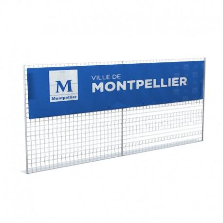 Banderole PVC 440g/m² 3x0.80m