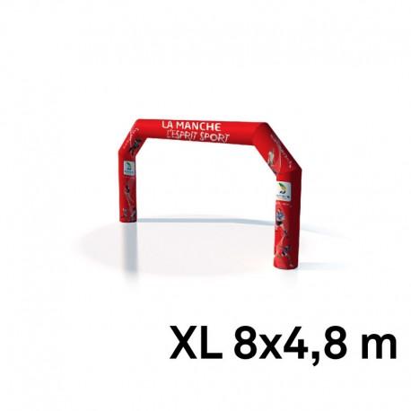 Arche air captif imprimé 4.8mx8m