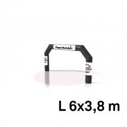 Arche air captif - marquage amovible 6x3.8m