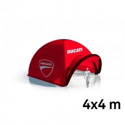 Tente Freeshelter imprimée 4x4m + 3 parois et casquette imprimée