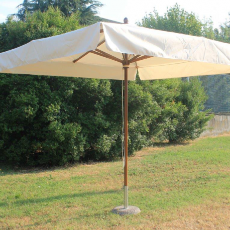 Parasol bois 3x2m