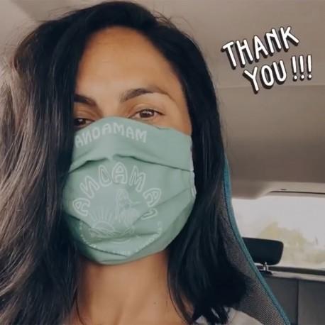Masque tissu personnalisé