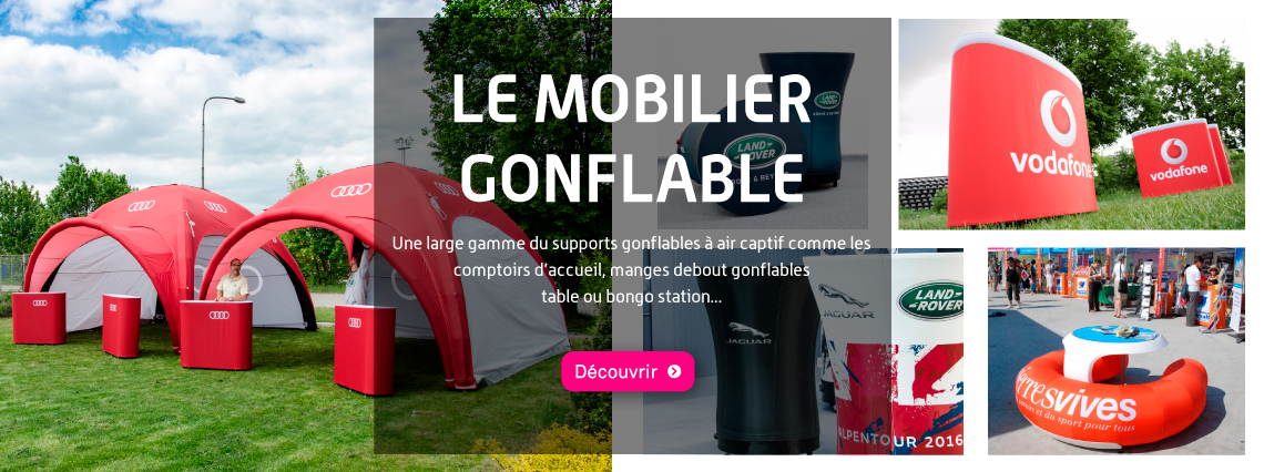 Mobilier gonflable